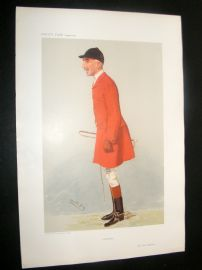 Vanity Fair Print 1906 Evan Hanbury, Foxhunter